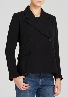 Eileen Fisher Double Breasted Jacket - The Fisher Project