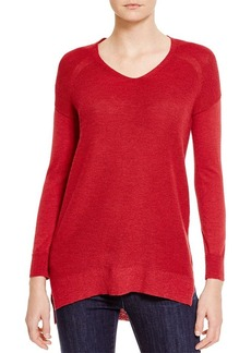 Eileen Fisher Drop Shoulder Wool Sweater