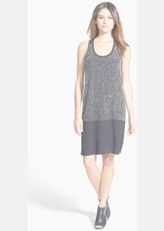 Eileen Fisher Embellished Silk Tank Dress