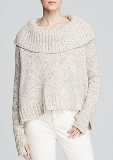 Eileen Fisher Fold Over Collar Sweater