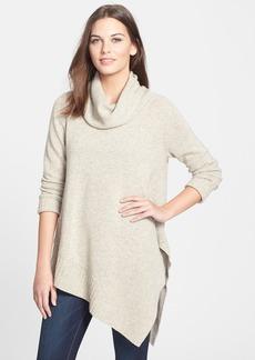 Eileen Fisher Funnel Neck Yak & Merino Poncho Sweater (Regular & Petite)