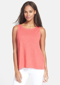 Eileen Fisher Hemp & Organic Cotton Shell (Regular & Petite)
