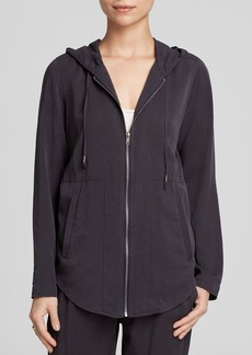 Eileen Fisher Hooded Zip Jacket - Bloomingdale's Exclusive