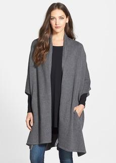 Eileen Fisher Kimono Sleeve Knit Cape