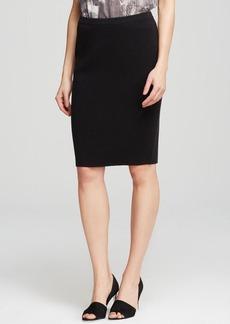 Eileen Fisher Knit Straight Pencil Skirt