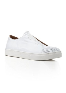Eileen Fisher Leather and Mesh Sneakers - Rad