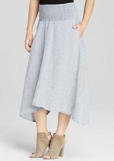 Eileen Fisher Linen Chambray Skirt