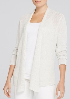 Eileen Fisher Linen Mixed Knit Cardigan