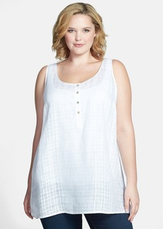 Eileen Fisher Linen Tank (Plus Size)
