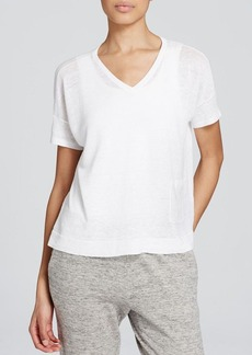 Eileen Fisher Linen V Neck Sweater