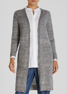 Eileen Fisher Long Linen Cardigan