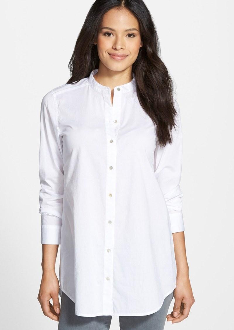 Eileen fisher eileen fisher long sleeve organic cotton for Eileen fisher organic cotton t shirt