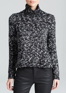 Eileen Fisher Marled Turtleneck Sweater
