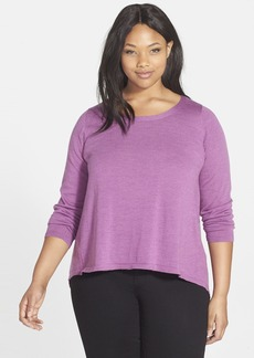 Eileen Fisher Merino Jersey Tunic (Plus Size)