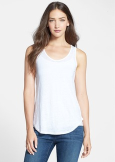Eileen Fisher Mesh Back U-Neck Tank