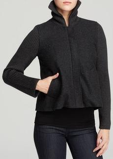 Eileen Fisher Mixed Knit Jacket
