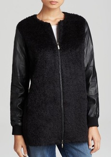 Eileen Fisher Mixed Media Jacket - The Fisher Project