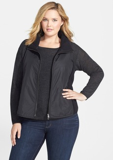 Eileen Fisher Mixed Media Vest (Plus Size)