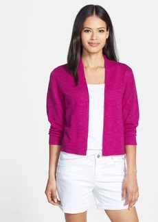 Eileen Fisher Open Crop Cardigan (Regular & Petite)