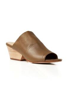 Eileen Fisher Open Toe Slip On Sandals - Juju