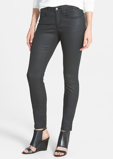 Eileen Fisher Organic Cotton Blend Skinny Jeans (Black)