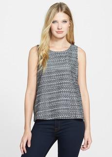Eileen Fisher Organic Cotton Ikat Shell (Regular & Petite)
