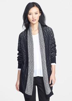 Eileen Fisher Organic Cotton Long Shawl Collar Cardigan