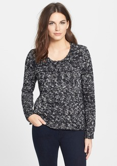 Eileen Fisher Organic Cotton Scoop Neck Sweater