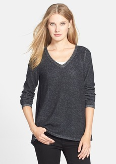 Eileen Fisher Organic Cotton V-Neck Tunic