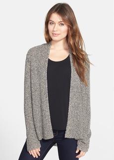 Eileen Fisher Organic Linen & Wool Flared Cardigan
