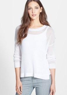 Eileen Fisher Organic Linen Boxy Sweater (Regular & Petite)