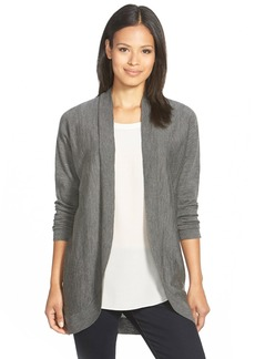 Eileen Fisher Oval Merino Cardigan (Regular & Petite)