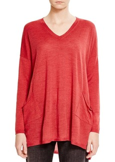 Eileen Fisher Patch Pocket Sweater