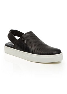 Eileen Fisher Perforated Slingback Sneakers - Gogo