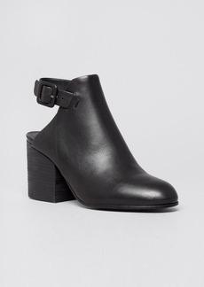 Eileen Fisher Platform Booties - Bonus High Heel