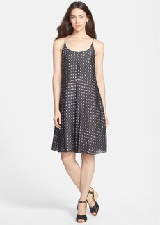 Eileen Fisher Print Silk Slipdress
