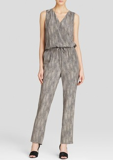 Eileen Fisher Printed Silk Jumpsuit - The Fisher Project