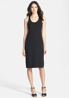 Eileen Fisher The Fisher Project Racerback Stretch Jersey Midi Dress
