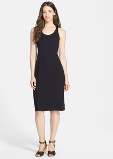 Eileen Fisher Racerback Stretch Knit Dress