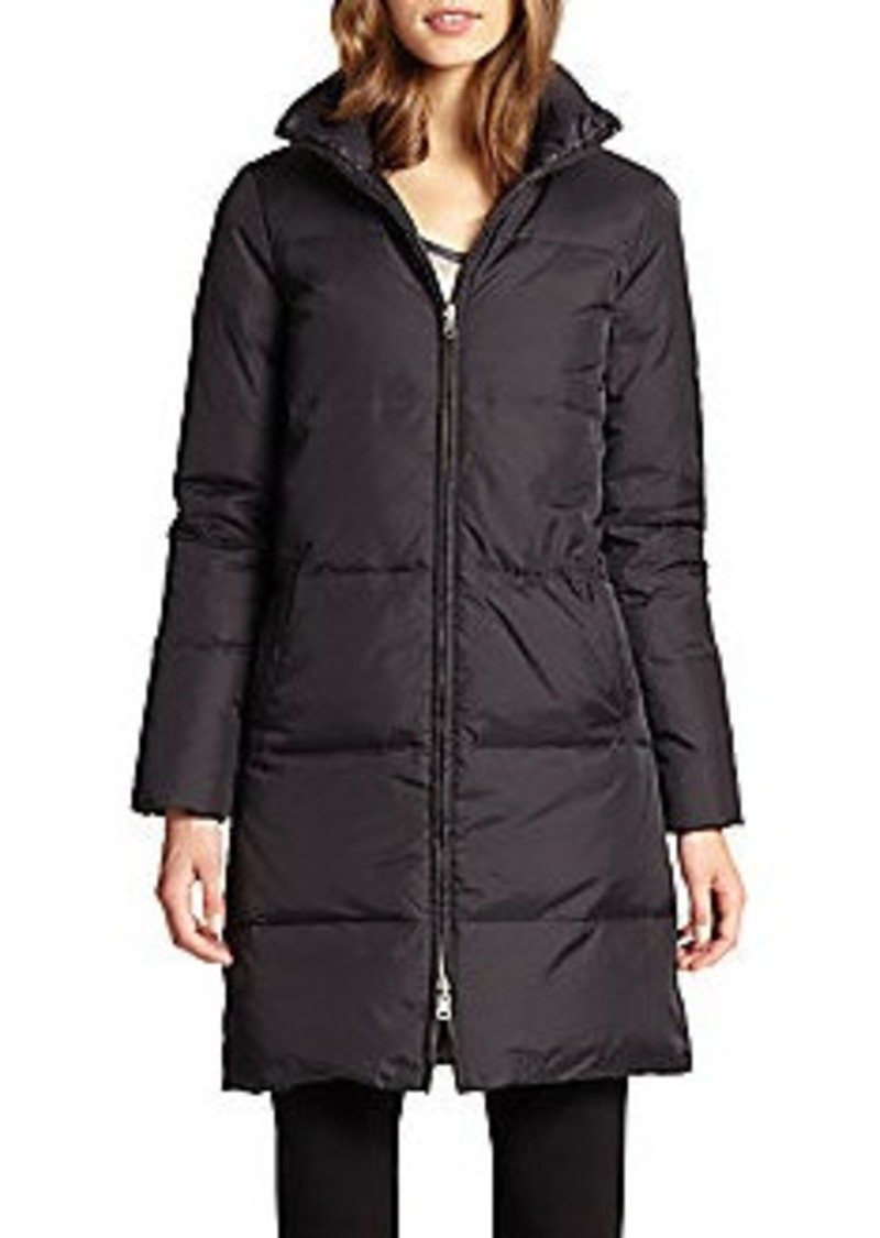 Eileen Fisher Eileen Fisher Reversible Quilted Down Coat
