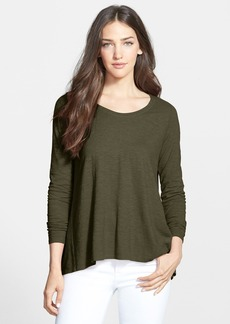 Eileen Fisher Scoop Neck A-Line Top (Online Only)