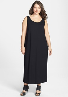 Eileen Fisher Scoop Neck Dress (Plus Size)