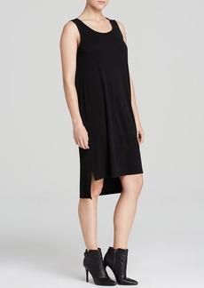 Eileen Fisher Scoop Neck High/Low Tank Dress