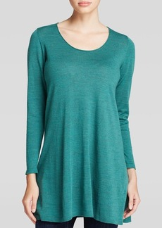Eileen Fisher Scoop Neck Long Tunic