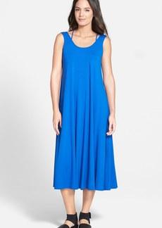 Eileen Fisher Scoop Neck Racerback Knit Dress (Regular & Petite)