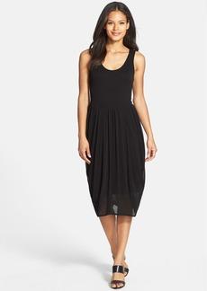 Eileen Fisher Scoop Neck Silk & Modal Dress