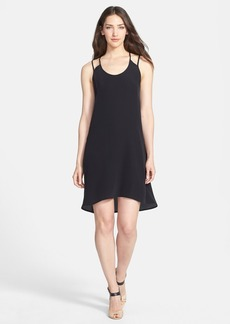 Eileen Fisher Scoop Neck Silk Slipdress