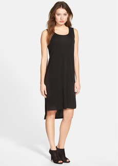 Eileen Fisher Scoop Neck Silk Tank Dress (Regular & Petite)