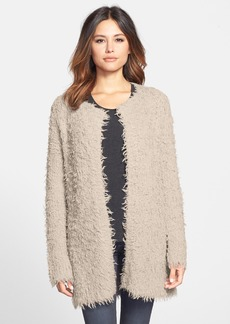 Eileen Fisher The Fisher Project Shaggy Knit Long Cardigan