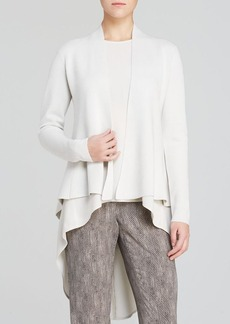 Eileen Fisher Shaped High/Low Jacket